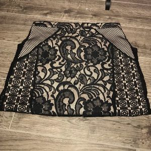 Mossimo lacey pencil skirt